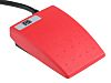 Interruptor de pedal, Contacto SP-CO, IPX7, Termoplástico, 3 A, 24V, 250V, Funcionamiento Momentáneo