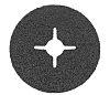 3M 501C Zirconia Aluminium Sanding Disc, 115mm, P36