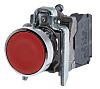 Schneider Electric, Harmony XB4 Non-illuminated Red Round Push