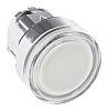 Schneider Electric Flush Illuminated White Push Button Head