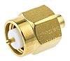 Radiall 50Ω Straight Cable Mount SMA Connector, Plug,