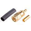 Radiall 50Ω Right Angle Cable Mount SMA Connector,