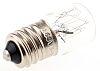 SES/E14 Indicator Light, Clear, 260 V, 27 mA,
