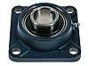 4 Hole Flanged Bearing, FY 35 TF, 35mm