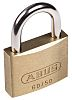Abus 50mm Brass, Steel Key Weather Resistant XR0060