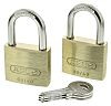 Abus 40mm Brass, Steel Key Weather Resistant Padlock