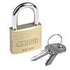 ABUS XR006040K3 All Weather Brass, Steel Padlock Keyed Alike 40mm