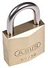 Abus 30mm Brass Key Weather Resistant Weatherproof Padlock