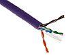 Brand-Rex Purple Cat6 Cable U/UTP LSZH Unterminated/Unterminated,