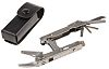 Leatherman Crunch Multitool, Stainless Steel, 102.0mm Closed