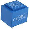 Transformateur pour circuit imprimé, Vin V c.a., Vout 18V c.a., 2 sorties, 2.3VA