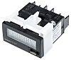 Black ac/dc volt non backlit LCD timer