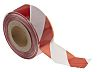 JSP Red/White PE 500m Non-adhesive Barrier Tape