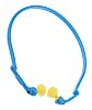 3M E.A.R Reusable Blue, Yellow Polyurethane Band Ear