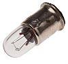 Midget Flange Indicator Light, Clear, 14 V, 80 mA, 15000h