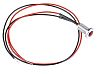 Oxley Red Indicator, Lead Wires Termination, 12 V