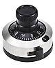 Vishay Potentiometer Knob, Dial Type, 23mm Knob Diameter,