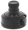 Vishay Potentiometer Knob, Dial Type, 28mm Knob Diameter,