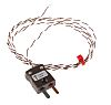 RS PRO Type T Thermocouple 1m Length, 1/0.2mm