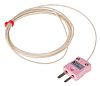 RS PRO Type N Thermocouple 1/0.3mm Diameter → +350°C