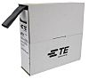 TE Connectivity Adhesive Lined Heat Shrink Tubing, Black