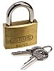 ABUS XR0060 50KA1 All Weather Brass, Steel Padlock
