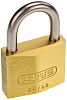 ABUS XR0065IB40KA7 All Weather Brass, Stainless Steel