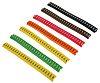 Kit de marcado de cable HellermannTyton 530-00879 HOPC85-PVC-MIX contiene Marcadores de cable y caja de almacenamiento,
