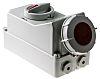 MENNEKES Switchable IP67 Industrial Interlock Socket 3P+E, Earthing Position 6h, 32A, 400 V