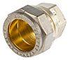 RS PRO 22mm End Stop Brass Compression Fitting
