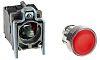 Schneider Electric, Harmony XB4 Illuminated Red Round Push