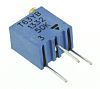 50kΩ, Through Hole Trimmer Potentiometer 0.25W Top Adjust