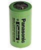 Panasonic NiCd C Rechargeable Battery, 2.5Ah