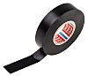 Tesa 4163 Black PVC Electrical Tape, 19mm x