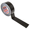 Tesa 4662 PE Laminated Black Duct Tape, 48mm