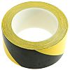 Brady Black/Yellow PVC Lane Marking Tape, 50mm x