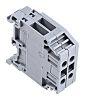 Entrelec Distribution Block, 2 Way, 4mm², 32A, 800