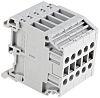 Entrelec Distribution Block, 5 Way, 4mm², 32A, 800