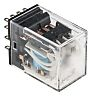 Omron, 24V dc Coil Non-Latching Relay 4PDT, 5A