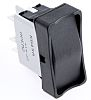 APEM Double Pole Double Throw (DPDT), On-Off-On Rocker Switch Panel Mount