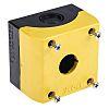 Eaton Grey/Yellow Plastic M22 Push Button Enclosure -