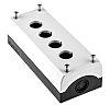 Eaton Grey Plastic M22 Push Button Enclosure -