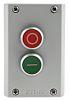 Eaton Momentary Enclosed Push Button - 2NO/2NC, Plastic,