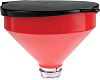 RS PRO 3.2L Plastic Safety Funnel