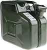 RS PRO Metal Jerry Can, 10L