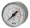 RS PRO Manometer Ø 40mm, 0bar, DKD/DAkks-kalibriert