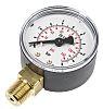 WIKA Bottom Entry Pressure Gauge 10bar RS Calibration, 7203556