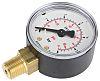 RSCAL(4055600) R1/4 0-6 BAR 50MM B/MOUNT