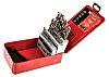 Facom 32 piece Metal Twist Drill Bit Set,