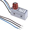 SPDT Plunger Microswitch, 15 A @ 250 V